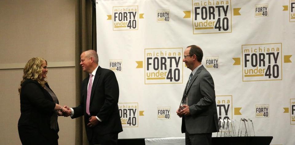 """Dr. Jenny Sears Honored at """"Forty under 40"""" Luncheon"""