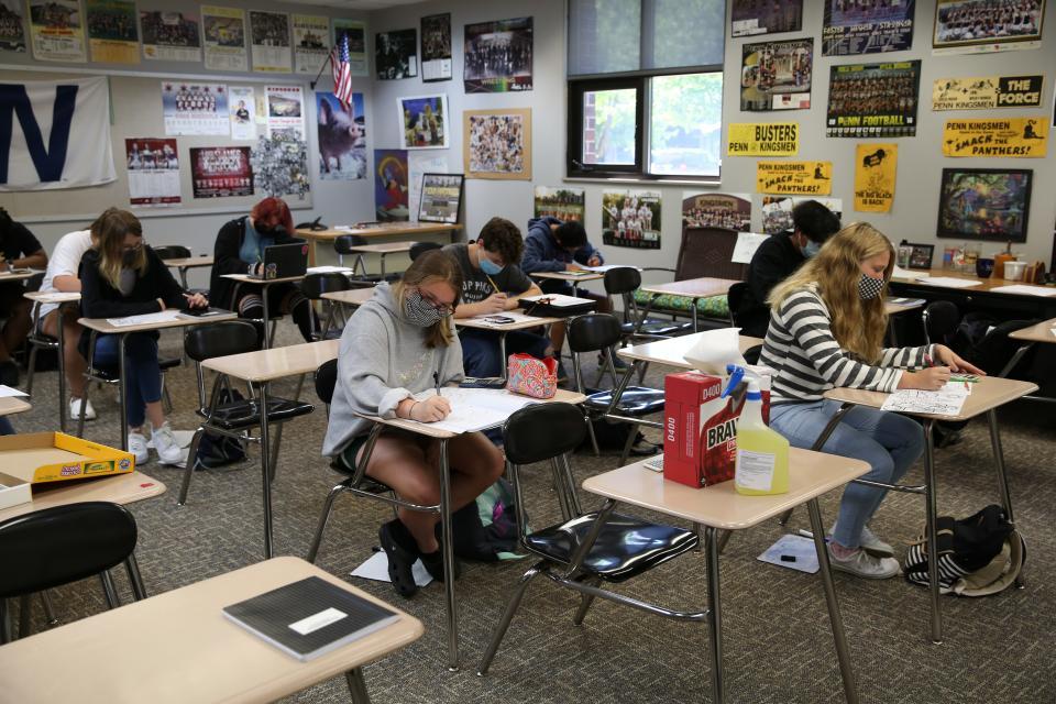 Penn High School students (June 17, 2021)