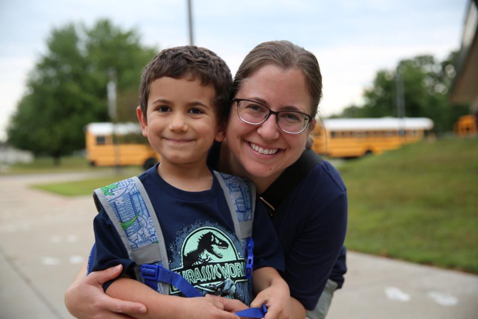 First Day of Kindergarten at Prairie Vista