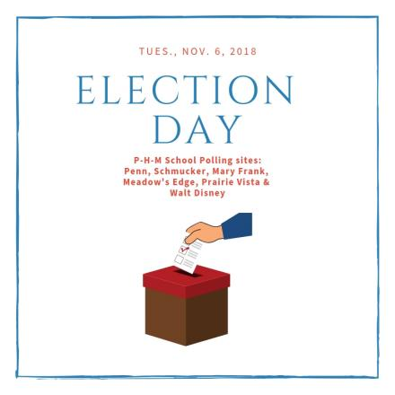 Election Day graphic