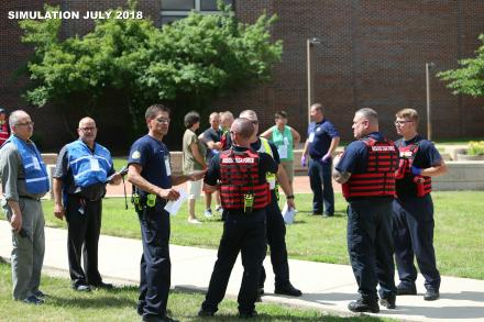 Rescue Task Force & Law Enforcement take part in active shooter exercise