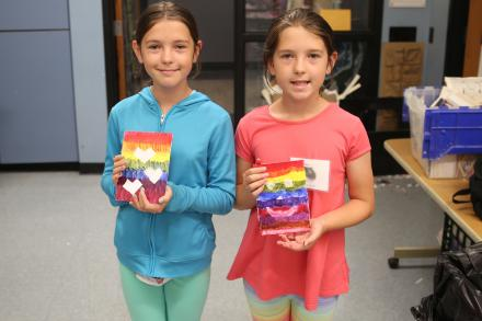 Visual Arts Academy students show completed projects