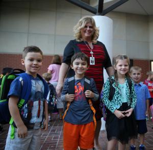 Prairie Vista kindergartners