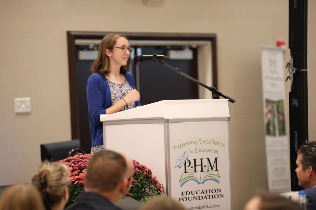 2019 PHM Secondary Teacher of the Year Jeannie Mitchell